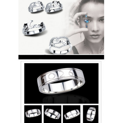 Custom Made Personalised Rings - Combine any of your elements - The Name Jewellery™