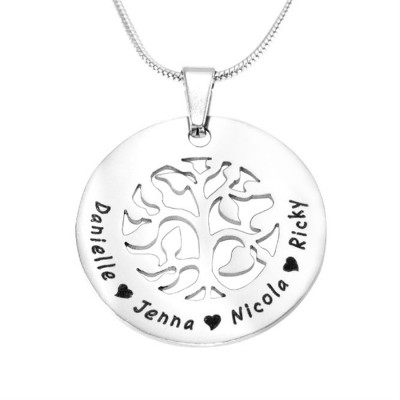 Personalised BFS Family Tree Necklace - The Name Jewellery™