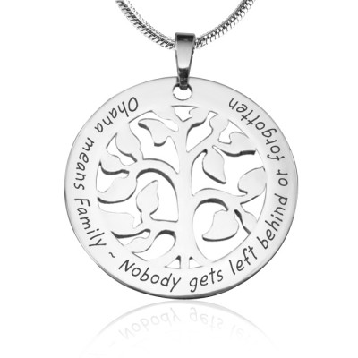 Personalised Ohana Tree - Sterling Silver *Limited Edition - The Name Jewellery™