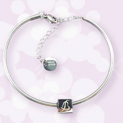 Personalised  Charm Bangle - The Name Jewellery™