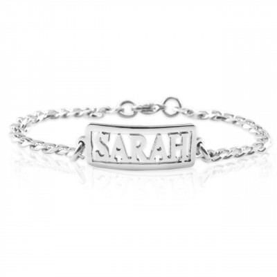 Name Necklace/Bracelet/Anklet - DIY Name Jewellery With Any Elements - The Name Jewellery™