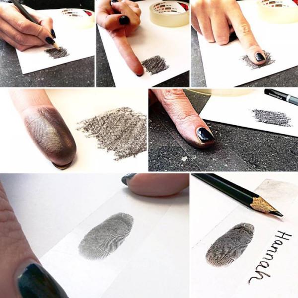 Fingerprint Coin Mens Chain - The Name Jewellery™