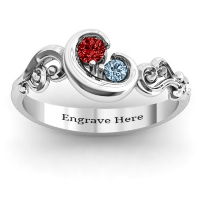 Cradle of Love  Ring - The Name Jewellery™
