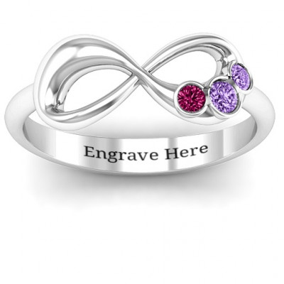 Now and Forever  Infinity Ring - The Name Jewellery™