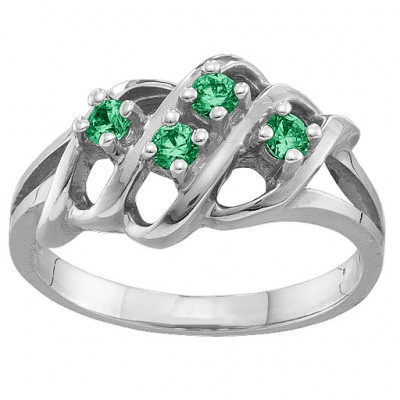 2-7 Accents Ring - The Name Jewellery™