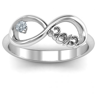 2012 Infinity Ring - The Name Jewellery™