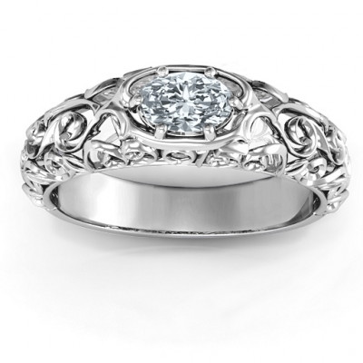 2015 Vintage Graduation Ring - The Name Jewellery™