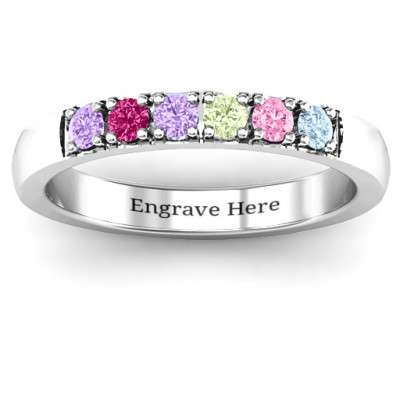 3 - 11 Stone Affinity Ring - The Name Jewellery™