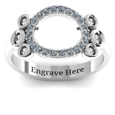 7 Circles Karma Ring - The Name Jewellery™