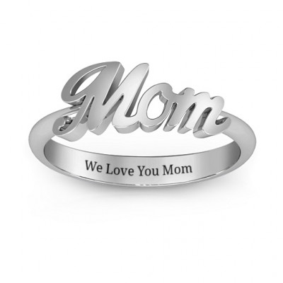 All About Mom Name Ring - The Name Jewellery™