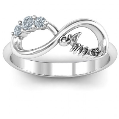 Amor Infinity Ring - The Name Jewellery™