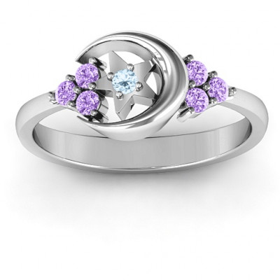 Beautiful Night Ring - The Name Jewellery™