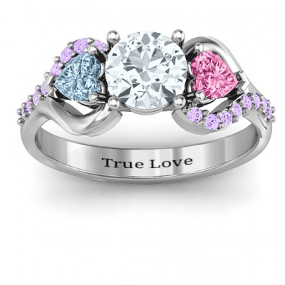 Blast of Love Ring with Accents - The Name Jewellery™