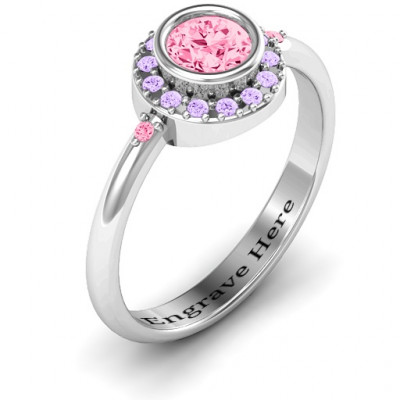 Blooming Round Cluster Ring - The Name Jewellery™