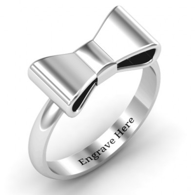Bow Tie Ring - The Name Jewellery™