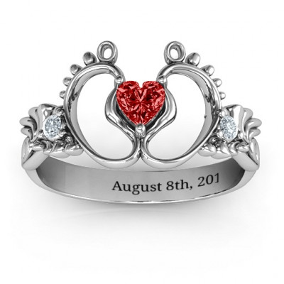 Bundle Of Joy Baby Foot Ring - The Name Jewellery™