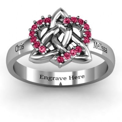 Celtic Heart Ring - The Name Jewellery™