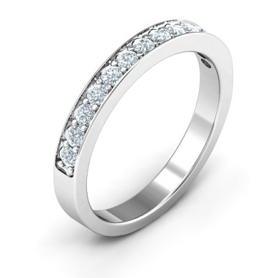 Classic Half Eternity Ring - The Name Jewellery™