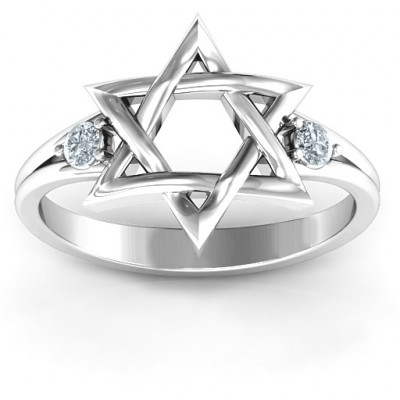 Classic Star of David Ring - The Name Jewellery™