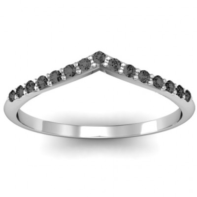 Crown Shape Accent Ring - The Name Jewellery™