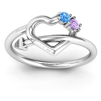 Cupid's Hold Love Ring - The Name Jewellery™