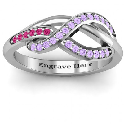 Delicacy Infinity Ring - The Name Jewellery™