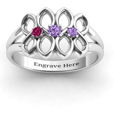 Echo of Love Infinity Ring - The Name Jewellery™