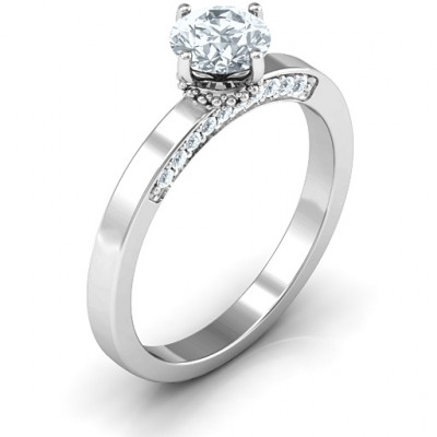 Enchantment Solitaire Ring - The Name Jewellery™