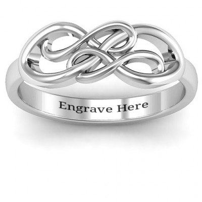 Everlasting Infinity Ring - The Name Jewellery™
