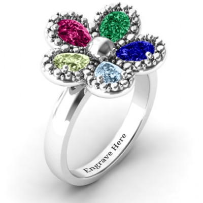 Flower Ring - The Name Jewellery™