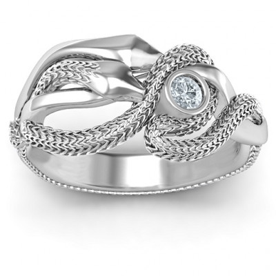 Guardian Snake Ring - The Name Jewellery™