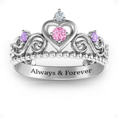 Happily Ever After Tiara Ring - The Name Jewellery™