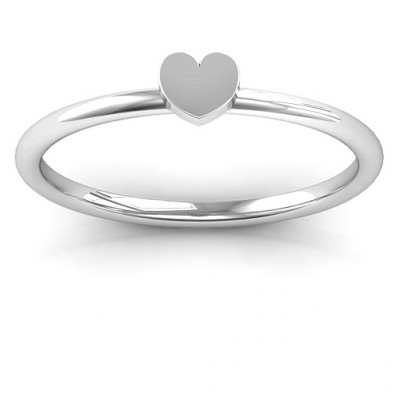 Heart Stackr Ring - The Name Jewellery™