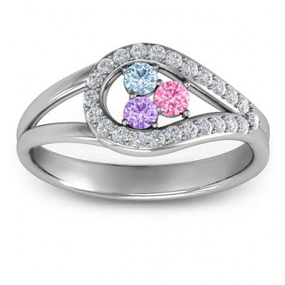 Illuminating Accents Ring - The Name Jewellery™