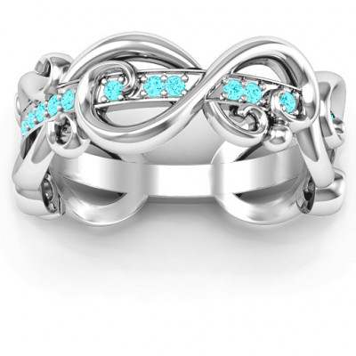 Imperative Love Infinity Ring - The Name Jewellery™