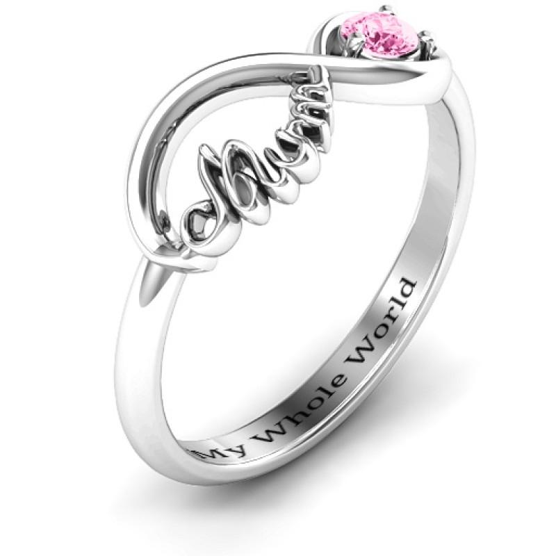 Infinite Bond Mum Ring