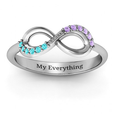 Infinity Accent Ring - The Name Jewellery™
