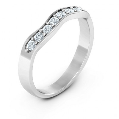 Jasmine Band Ring - The Name Jewellery™