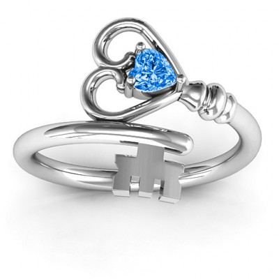 Key to Her Heart Ring - The Name Jewellery™
