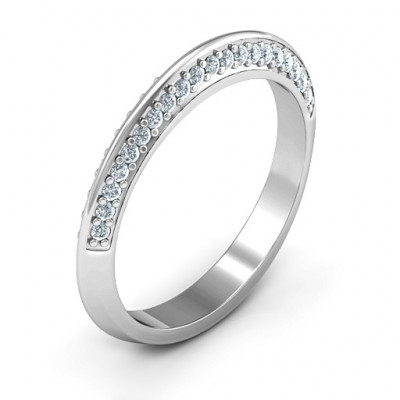 Malania Band Ring - The Name Jewellery™