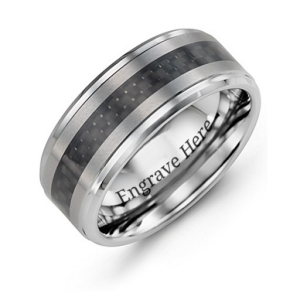 Men's Trinity Tungsten Ring - The Name Jewellery™