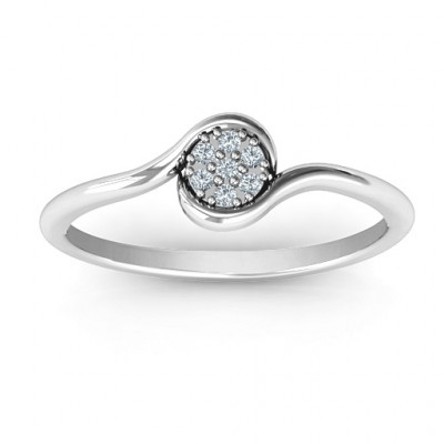 Modern Flair Ring - The Name Jewellery™
