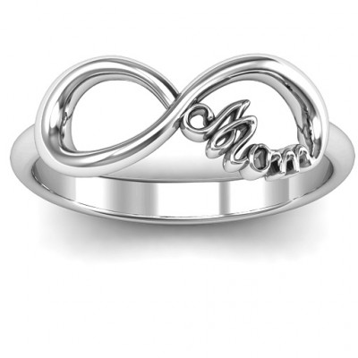 Mom's Infinite Love Ring - The Name Jewellery™