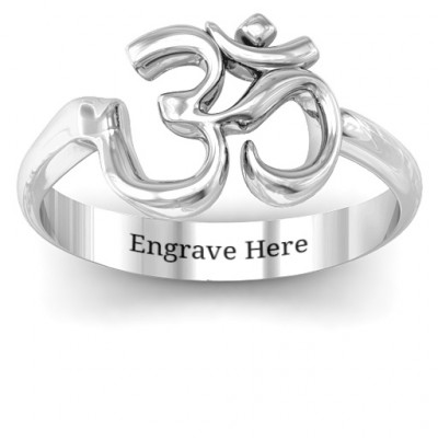 Om - Sound of Universe Ring - The Name Jewellery™