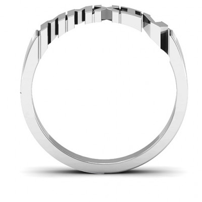 Roman Numeral Unisex Graduation Ring - The Name Jewellery™