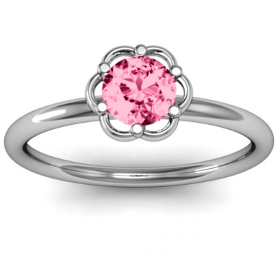 Scarlet Flower Ring - The Name Jewellery™