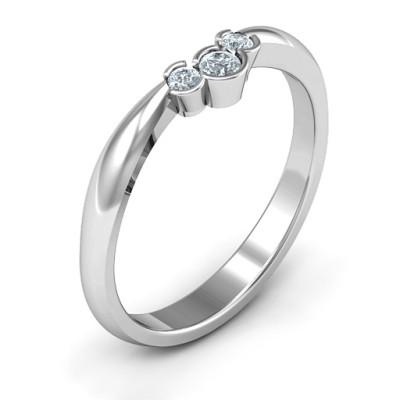 Selena Band Ring - The Name Jewellery™