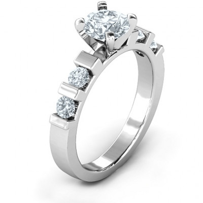 Set in Stone Ring - The Name Jewellery™