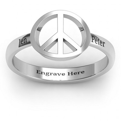 Shanti Peace Ring - The Name Jewellery™