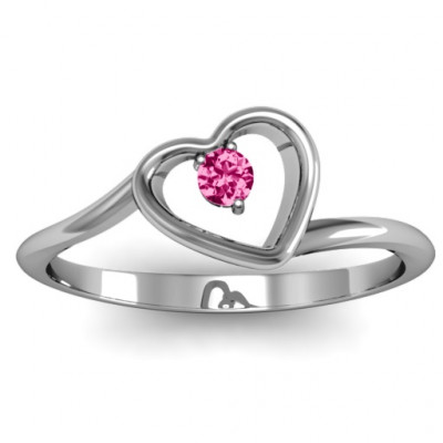Single Heart Bypass Ring - The Name Jewellery™